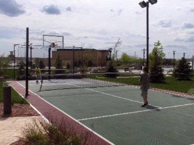 Burn Off Some Energy On The Outdoor Sport Court 4 of 16