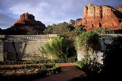 Patio View Of Red Rocks At Canyon Villa Of Sedona 5 of 8