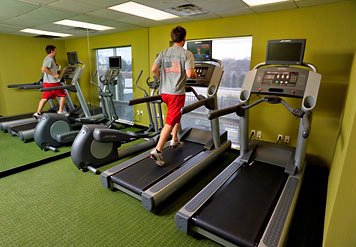 Even Away From Home You\'ll Never Have To Miss A Workout. Our Fitness Center Is Open 24 Hours A Day And Features Two Treadmills And An Elliptical Machine – All Equipped With Personal Viewing Television Screens For Your Enjoyment! 9 of 10