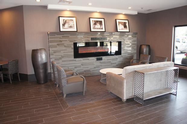 Relax By The Fireplace In Our Beautiful Lobby. 10 of 11