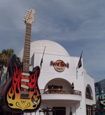 Hard Rock Cafe/ Citywalk 9 of 10