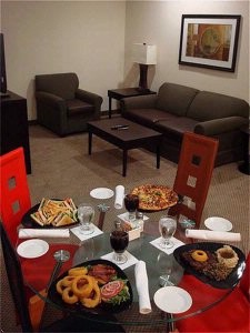 In Suite Dining Available 6 of 8