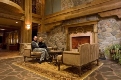 The Lobby Of Grand Cascades Lodge 6 of 14