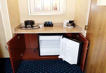 Mini Refrigerator In Each Room 7 of 13