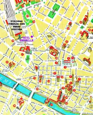 Map With Hotel Annabella\'s Location 10 of 16