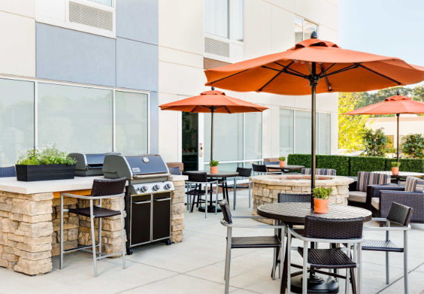 Outdoor Patio With Grill 12 of 13