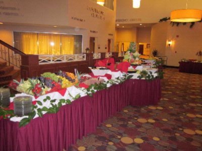 Salad Buffet Set In Atrium 13 of 14