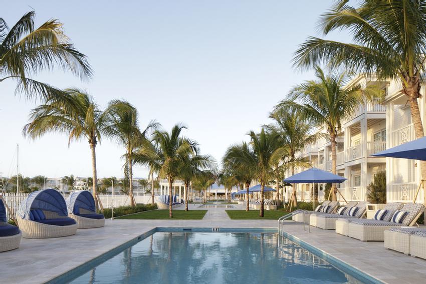 Map Of Oceans Edge Key West Resort Hotel Marina