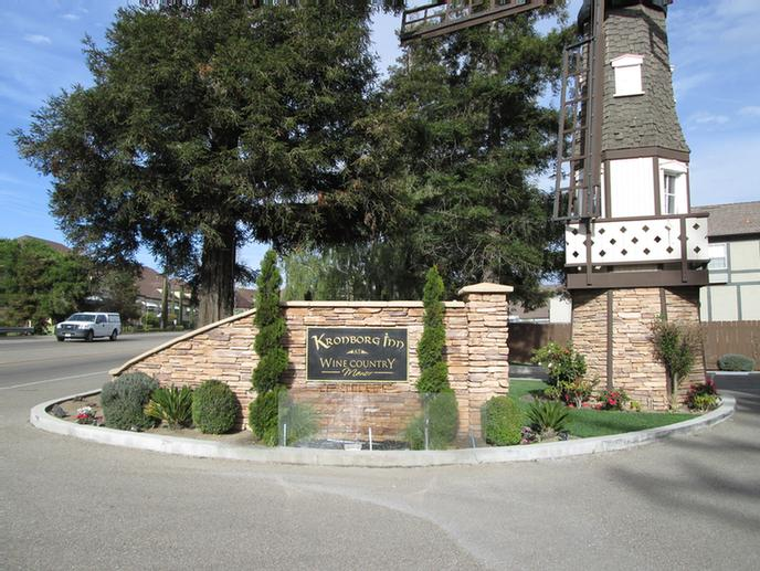 Entrance To Kronborg Inn In Solvang 10 of 13