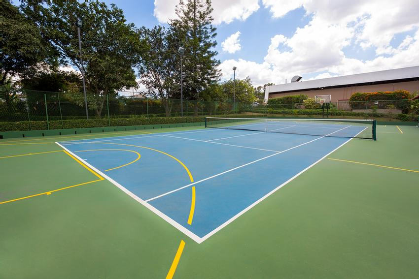 Tennis And Basketball Court 13 of 13