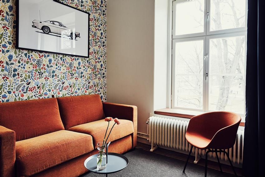 Living Room Scandinavian Design 3 of 8