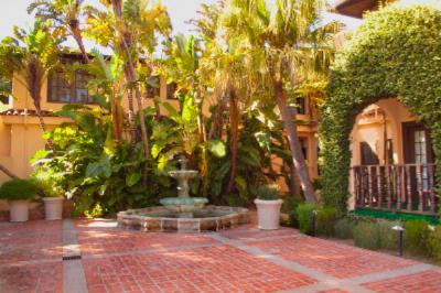 Historic Brick Patio And Fountain 4 of 8