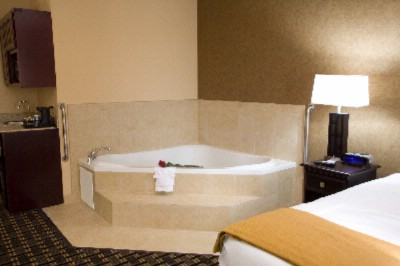 One Of Our 4 Jacuzzi Tubs With Our Romance Package. 7 of 7