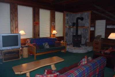Reilly\'s Cabin Living Area 21 of 31