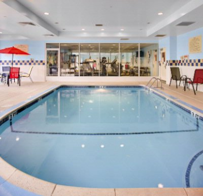 Heated Indoor Pool & Exercise Room 12 of 14