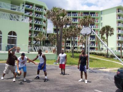 Basket Ball Volley Ball Shuffle Board Courts 8 of 16