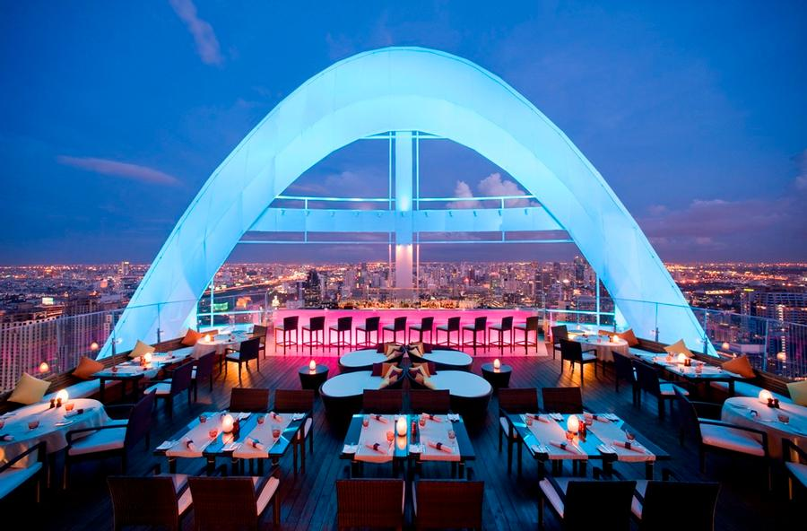 Hotel\'s Rooftop Restaurant 8 of 9