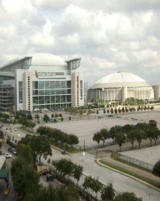 Reliant Stadium View From Hotel 9 of 11