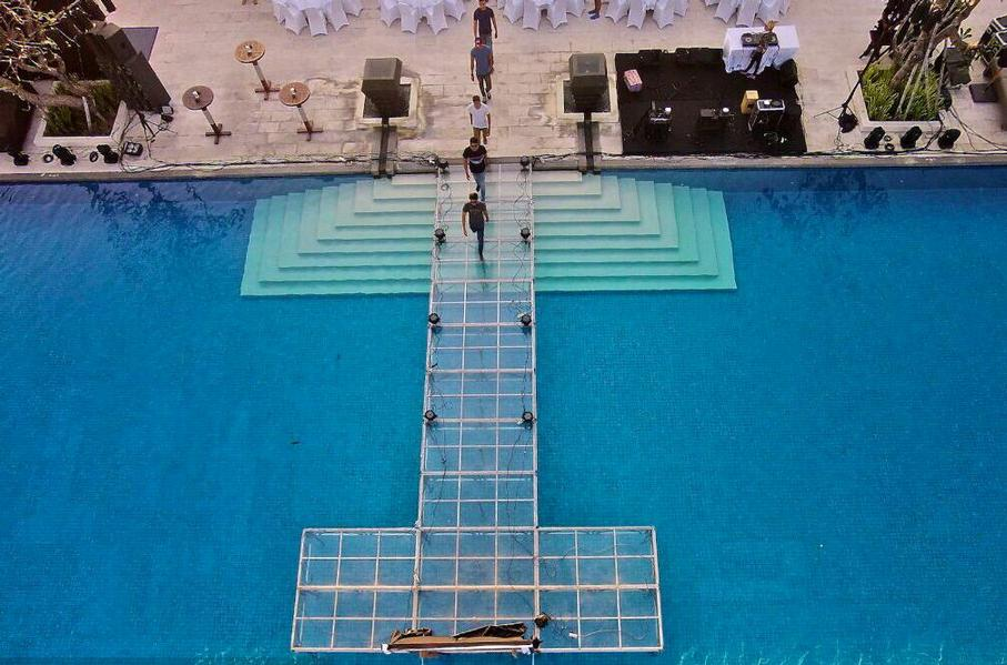 Fairmont Sanur Beach Bali -Event Floating Stage 25 of 31