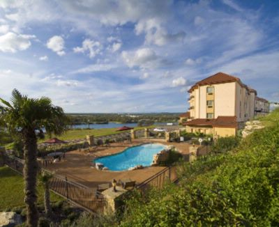 Swimming Pool With Stunning View Of Lake Marble Falls And Hill Country 12 of 16