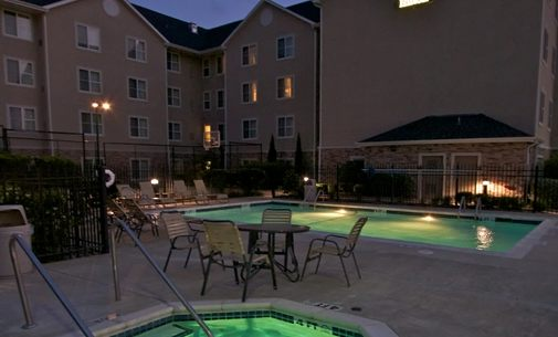 Our Outdoor Pool Hot Tub And Patio! 4 of 11