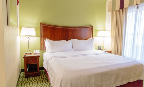 All Of Our Rooms Are Suite Style Featuring A King Bed And Pullout Sofa! 8 of 11