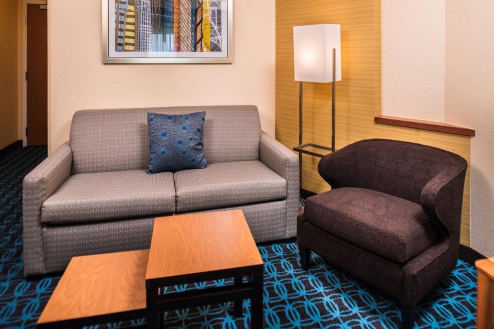 The Studio King Suite Offers Our Travelers A Living And Sleeping Area That Includes A King Bed And Sleeper Sofa. 13 of 14