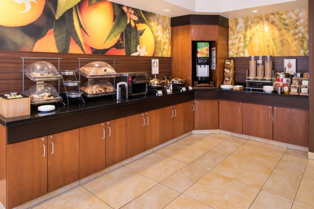 Our Complimentary Hot Breakfast Buffet Offers A Variety Of Assorted Breads Fruits Cereals Juices Yogurt Hot Items And A Make-Your-Own-Waffle Station. 5 of 14
