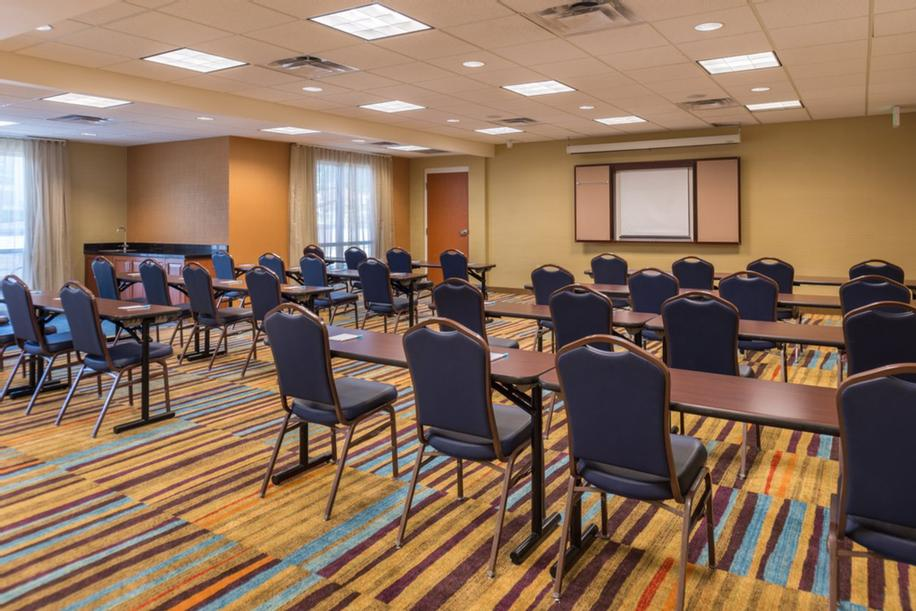 The Blubonnet Meeting Room Can Accommodate Up To 50 People In A Classroom Seating Style. 7 of 14