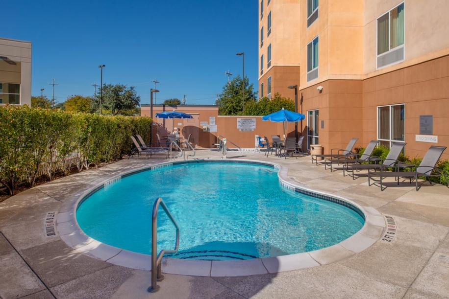 Relax And Unwind In Our Heated Outdoor Pool. 9 of 14