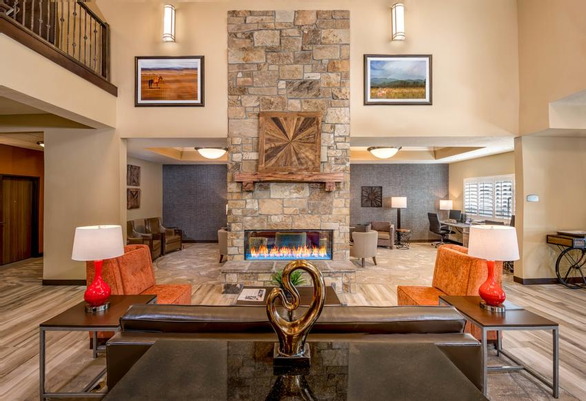 Lobby With Fireplace 8 of 11