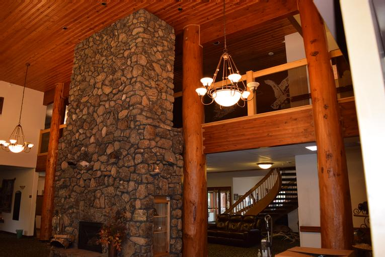 Fire Place In Dining Room 3 of 4