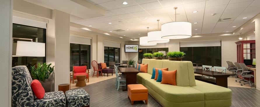 Lobby -Home2 Suites By Hilton Tampa Usf Near Busch Gardens 3 of 5