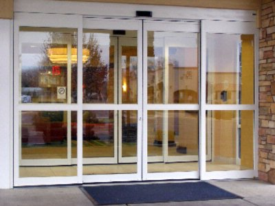 Automatic Lobby Doors -Entrance 6 of 8