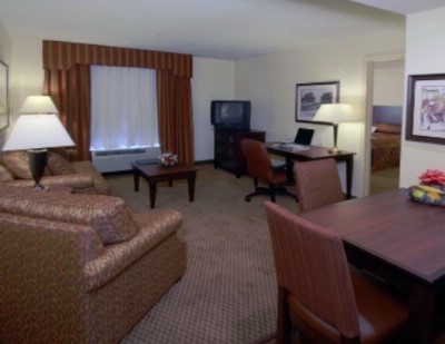 Spacious Suite With King Size Bed And Sofa Bed. There Are One Large Work Desk And Dining Table In Each Room With Either Wire Or Wireless Internet Access. 11 of 14