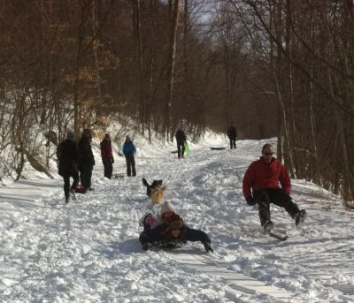 Great Sliding On Adjacent Mt. Philo 8 of 15