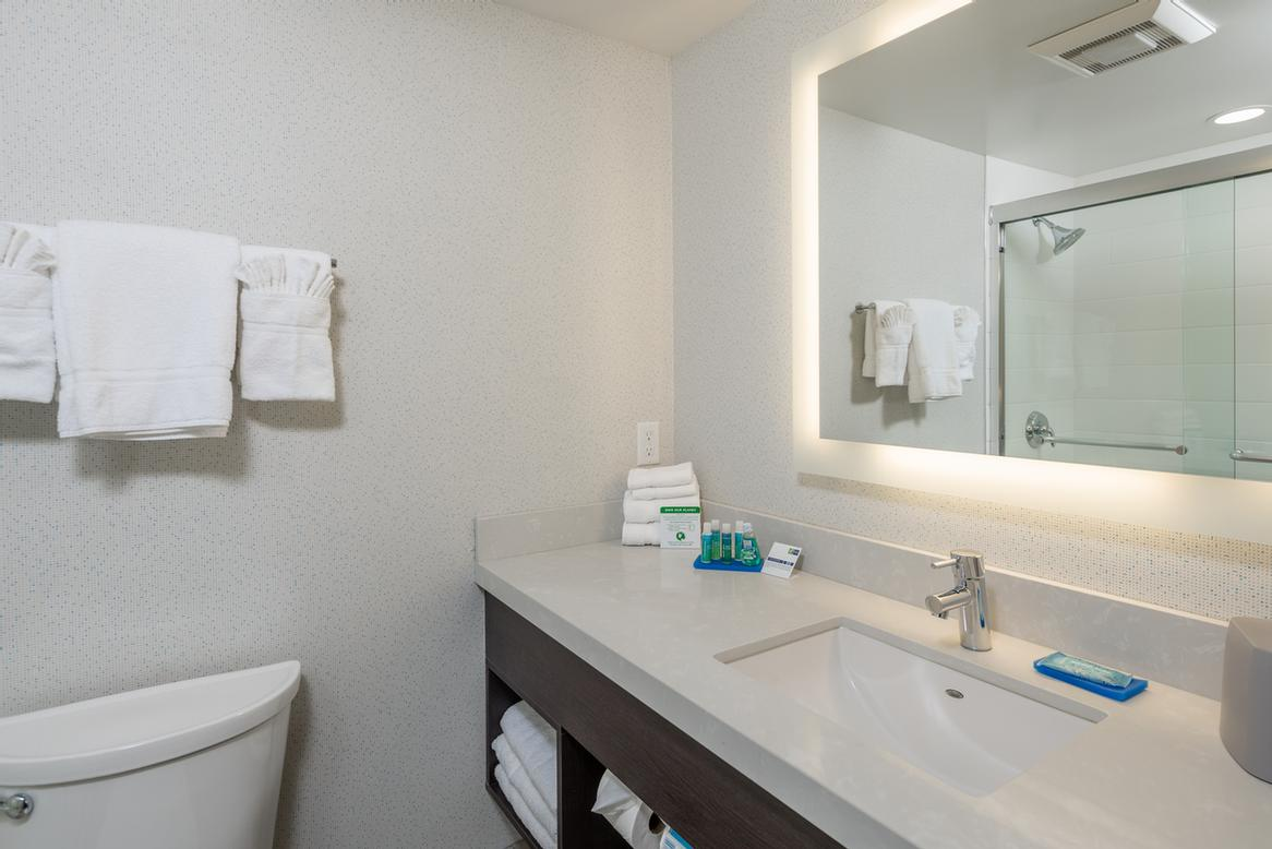 Holiday Inn Express Sunnyvale -Silicon Valley Guestroom Bathroom 8 of 16