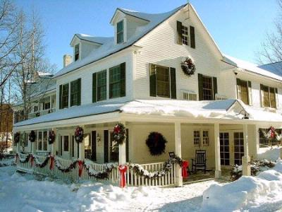 The Stowe Inn Stowe Inn Main Inn In Winter