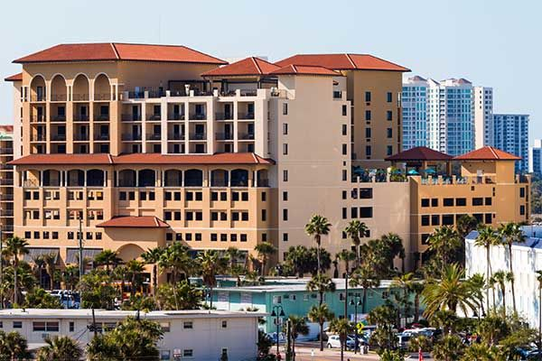 Edge Hotel Clearwater Beach Fl 505 South Gulfview 33767
