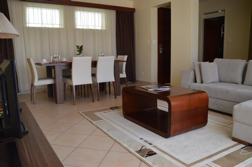 Two Bedroom Apartment Siting & Dining Are 10 of 17