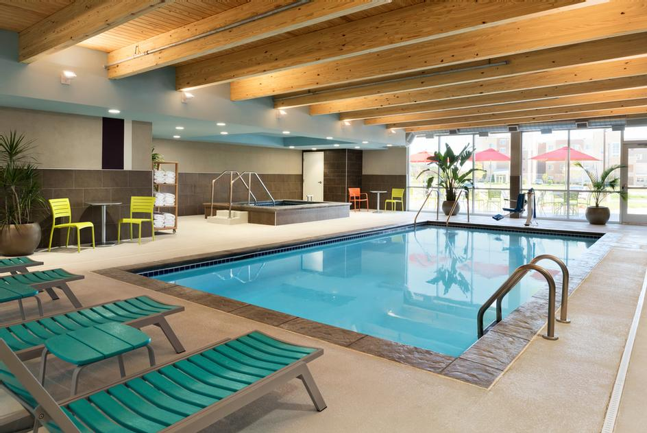 Take A Dip In Our Heated Indoor Pool And Hot Tub 6 of 6