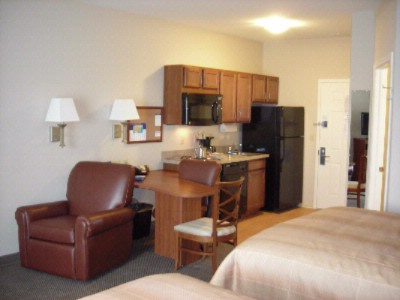 Standard Kitchen In All Guest Rooms Candlewood Suites Gillette 6 of 8