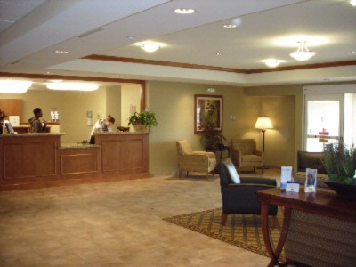 Front Desk And Lobby Candlewood Suites Gillette 7 of 8