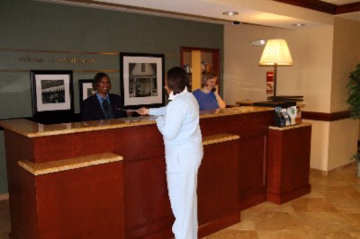 Check In To A Memorable Stay With Us Here At The Hampton Inn Middletown! Our Highly Trained Guest Service Representative Is Awaiting Your Arrival! 2 of 11
