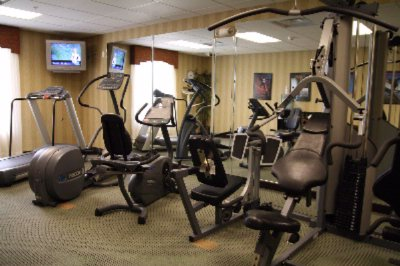 Our State-of-the-art Fitness Center Features A Precor® Multi Gym Treadmill Elliptical Recumbent Cycle And Leg Press. 10 of 11