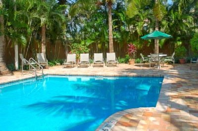 Outdoor Pool And Jacuzzi In A Tropical Setting 4 of 11