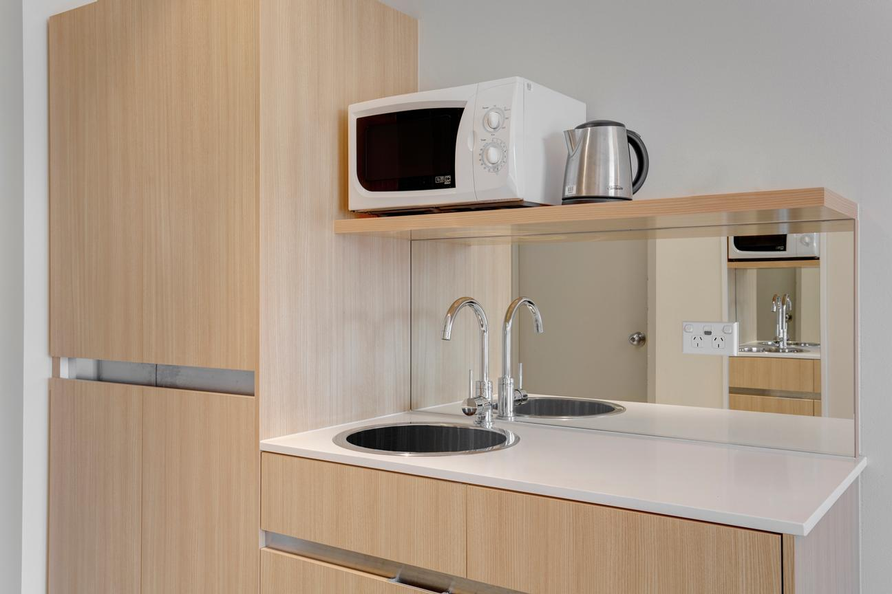 Guest Room Kitchenette 14 of 15