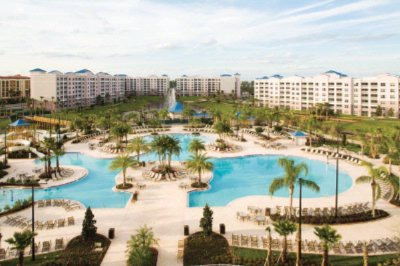 Enjoy Water Slides A Zero-Entry Pool Water Spouts Cabanas A Poolside Grille And More! 3 of 11