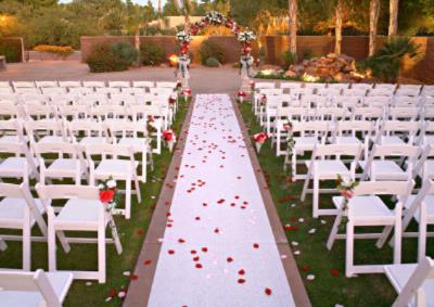 Paloma Garden Wedding Setup 13 of 16