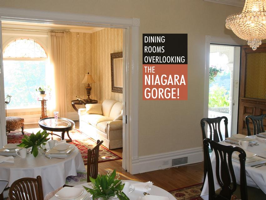 Enjoy Your Breakfast In Dining Rooms Overlooking The Niagara Gorge 13 of 16